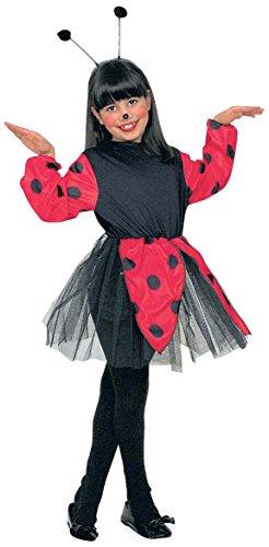 Kinder-Kostüm-Set Marienkäfer, Größe (Kostüme Kind Marienkäfer)