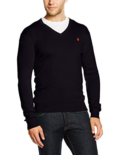 Ralph Lauren Herren Sweatshirt LS SF VN PP, Blau (Hunter Navy A49HN), Medium