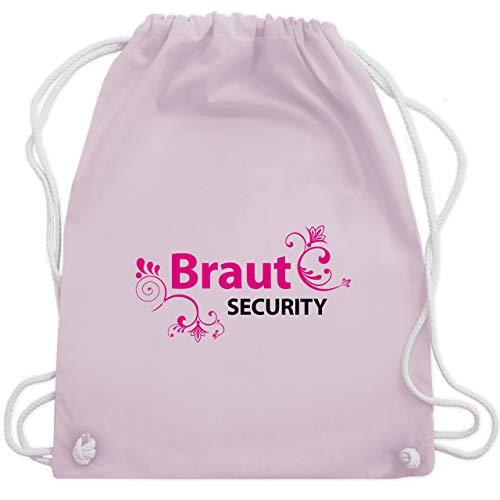 JGA Junggesellinnenabschied - Braut Security - Unisize - Pastell Rosa - WM110 - Turnbeutel & Gym Bag