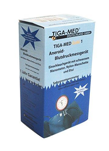 Sfigmomanometro Braccio 1tubo 1pezzi Sangue Misuratore di pressione Ki in velcro, con manicotto Med Gold 1Misuratori di pressione arteriosa - 2