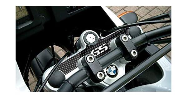 PROTEZIONE 3D gel PIASTRA FORCELLA compatibile per MOTO BMW GS R1200 2008-2012