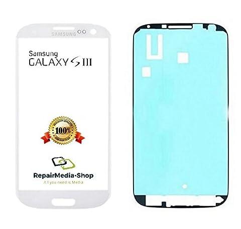 Samsung Galaxy S3 Display Touchscreen GLAS Scheibe WEISS + Rahmenkleber i9300 i9305 (Galaxy S3 Display Kaufen)