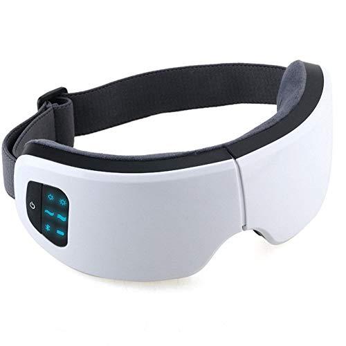 Arthur Augenmusik-Massageinstrument 4D-Augenpflegeinstrument heißer Kompressionsdruck-Augenmassagegerät,classicwhite (Qi-massagegerät)