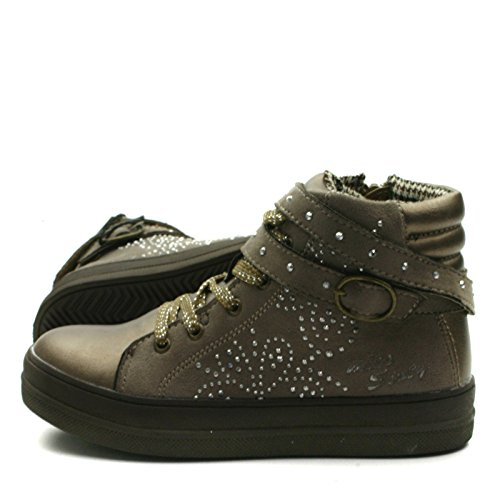 MS021 Miss Sixty Ankle Boot with side zip Sporty for Girls >      > Bottines avec zip côté sportif pour les filles Bronze Gold (or)