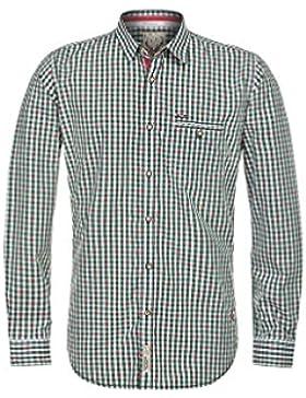Michaelax-Fashion-Trade Stockerpoint - Herren Trachtenhemd in Grün, Don