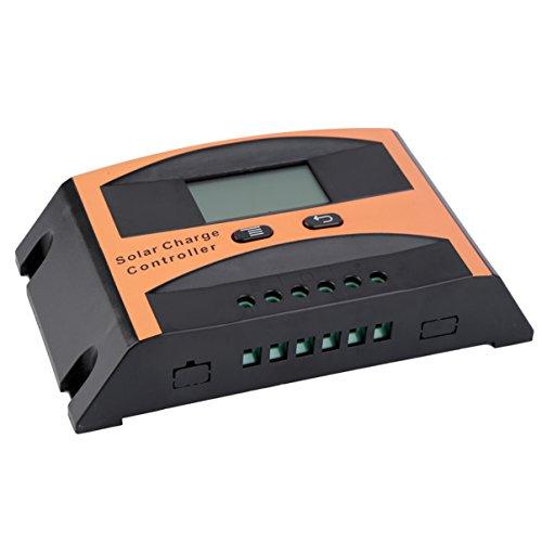 Contrôleur de charge de régulateur de batterie de panneau solaire d'Autoswitch de l'affichage à cristaux liquides 10A 12V / 24V