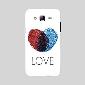 Back Cover for Samsung Galaxy ON7 ABSTRACT BLUE