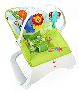 Fisher-Price Hamaca confort y diversión verde, para bebé recién nacido (Mattel CJJ79) (B00PI0HKIM) | Amazon price tracker / tracking, Amazon price history charts, Amazon price watches, Amazon price drop alerts