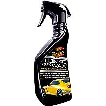 Meguiars Ultimate Quik Wax - Cera líquida para coche (450 ml)