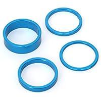 MSC Bikes 9009BU Espaciadores de dirección, Azul, 2, 3, 5, y 10 mm