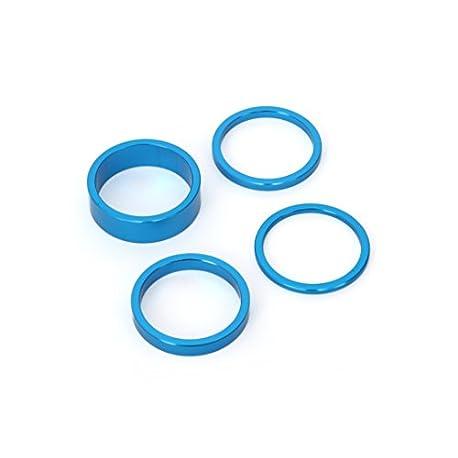 MSC Bikes 9009BU Espaciadores de direcci n Azul 2 3 5 y 10 mm