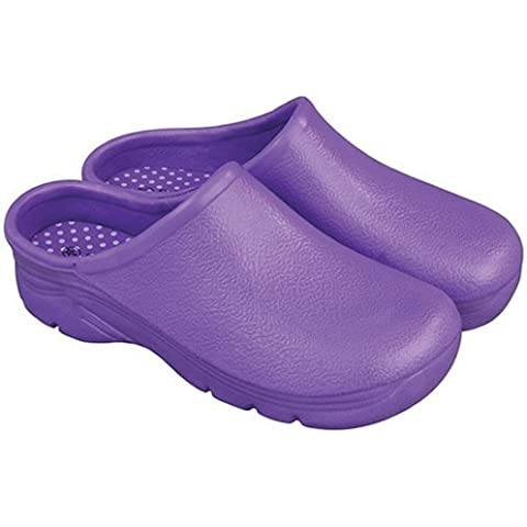 Briers Ltd B2118 - Zuecos para jardín, talla 7/40, color morado