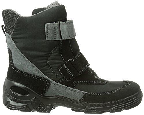 Ecco Ecco Snowboarde, Boots garçon Noir (Black/Black 55351)