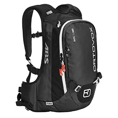 Ortovox Base 20 ABS with M.A.S.S. black anthracite / black size Uni - sports-outdoor-bags, skiing-backpacks
