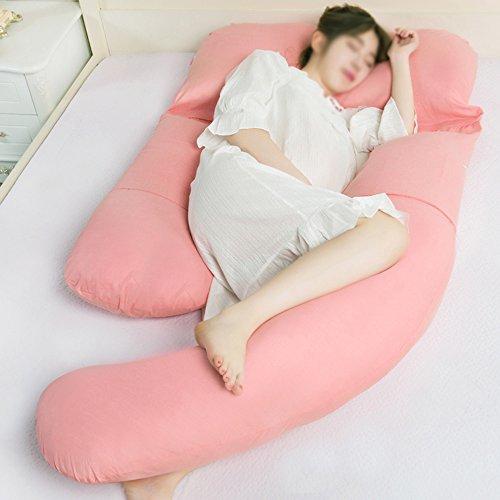 SPQRSXC Femmes enceintes oreiller d'allaitement allaitement et oreiller d'allaitement, coussin de couchage pour soulèvement d'estomac, oreiller de couchage côté taille (Couleur : D)