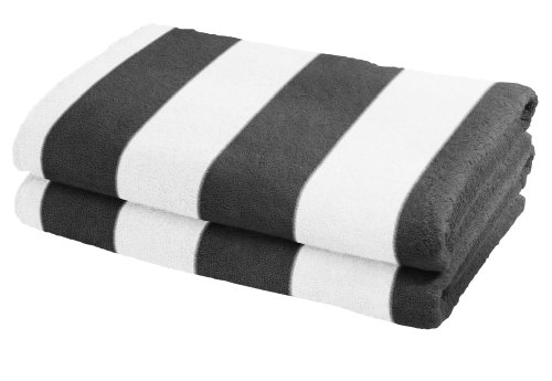 Striped Towels Amazoncouk