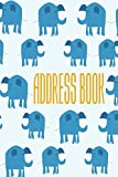 Address Book: Alphabetical Organizer With Birthday, Address, Work/Mobile Numbers, Social media And Email