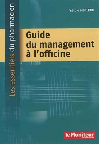 Guide du management à l'officine