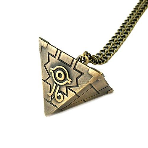 Unbekannt Yu-Gi-Oh Halskette mit Anhänger, Spiel, Comics, Filme, Cartoon-Superhelden-Logo, Premium-Qualität, detailliertes Cosplay-Schmuck-Geschenk-Serie. (Black Widow Halskette)