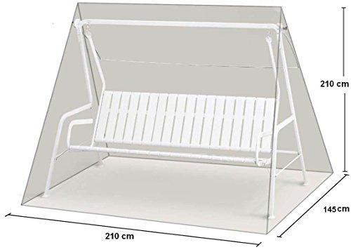 Schaukelhülle PE-Bändchen Weiss-Transparent+RV