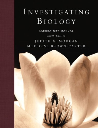 Investigating Biology Lab Manual (6th Edition) by Neil A. Campbell (2007-12-27)