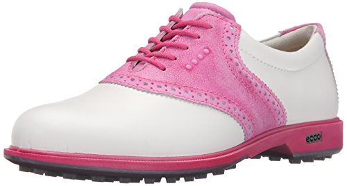 ECCO Womens CLAS. Golf Hybrid Scarpe da Golf, Donna, Multicolore(White/Candy 57676), 37