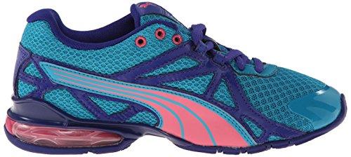 Puma Voltaic 5 Jr Training Shoe (Infant/Toddler/Little Kid) Capri Breeze/Fluo Pink/Clematis Blue