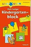 Mein lustiger Kindergartenblock: Spielen und lernen ab 3 Jahren