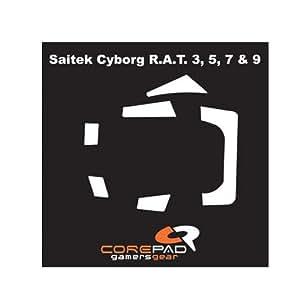 Corepad CS28100 Skatez Patins pour souris Saitek Cyborg RAT 3,5,7 & 9 (Import Royaume Uni)