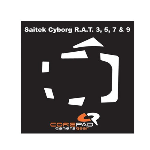 Corepad CS28100 Skatez Mouse Feet for Saitek Cyborg RAT 3,5,7 and 9