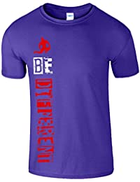 Be Different MMA Herren T-shirt Work Out Gym Bodybuilding Tee
