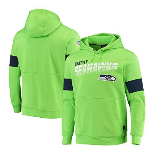 Männer Hoodie Sweatshirt for Los Washington Redskins Angeles Rams Seattle Seahawks Minnesota Vikings American Football Fans Trikots (Color : NFL 4, Size : XL)
