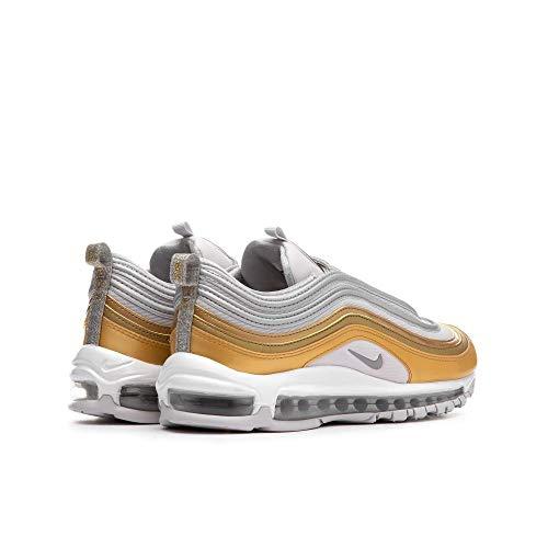 the latest f93e1 54807 Nike W Air Max 97 Se, Scarpe Running Donna, Multicolore (Vapste Grey Silver