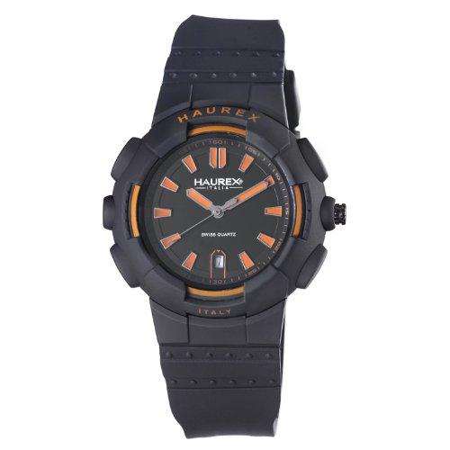 Haurex Italy Men's 2P504UYN Tremor Black Plastic and Rubber Watch