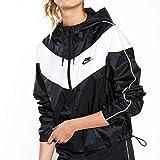 Nike W NSW Hrtg JKT Wndbrkr Veste pour Femme XS Noir/Blanc/Noir