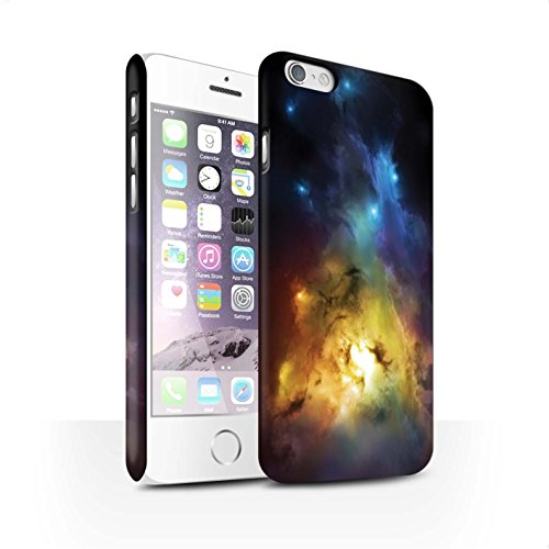 Offiziell Chris Cold Hülle / Matte Snap-On Case für Apple iPhone 6S / Pack 12pcs Muster / Fremden Welt Kosmos Kollektion Arcularius Nebel