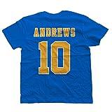 KiarenzaFD Maglietta T-Shirt Riverdale Archie Andrews Football 10 Serie TV Cult Movie 2