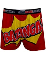 The Big Bang Theory Underwear, Mens Pow Bazinga Boxer Shorts