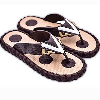 pantofole Infradito Stivali inverno delle donneCasual Sandali con zeppa tacco piuma sandali US5 / EU37 / UK4 / CN36