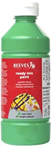 Reeves Ready Mix Paint, 500 ml - Brilliant Green