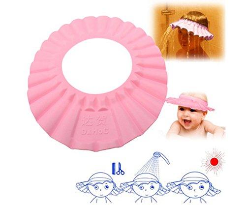 Kinder Baby Einstellbar Eva Schaum Dusche Kappe Kind Kinder Shampoo Bad Dusche Cap Hut Waschen Haar Schild Für Kinder Kopf Bad & Dusche Produkt