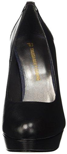 Trussardi Jeans 79s28551, Scarpe con Tacco Donna Nero (Black/Black)