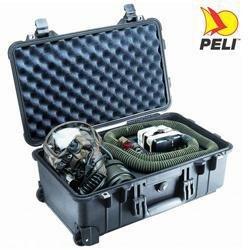PELI Carry on Case Modell 1510, schwarz mit Würfelschaum (Außenabm.: 55,5x35,0x23,0 cm)