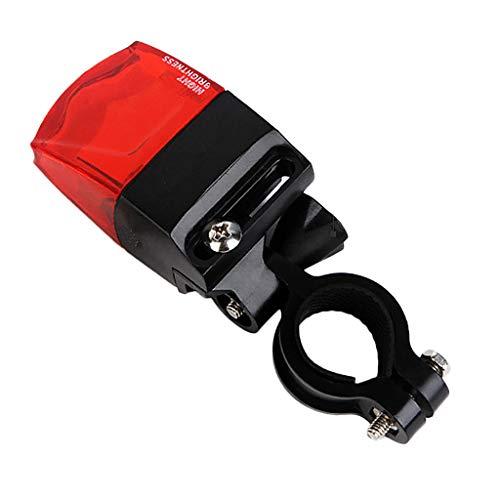 LomsarshInduzione della luce posteriore della bicicletta Spia della bicicletta La potenza magnetica genera la luce posteriore impermeabile Nessuna batteria senza carica Durata della batteria ininte