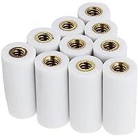 KEESIN 13 mm Tornillo-en Ferrules Sugerencias de Cuevas Reemplazo de billar para Pool Cues Tip Pack de 10