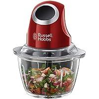 Russell Hobbs Desire - Picadora de Alimentos (Picadora Eléctrica, 200 W, Cuchillas Inox, Rojo, sin BPA) - ref. 24660-56