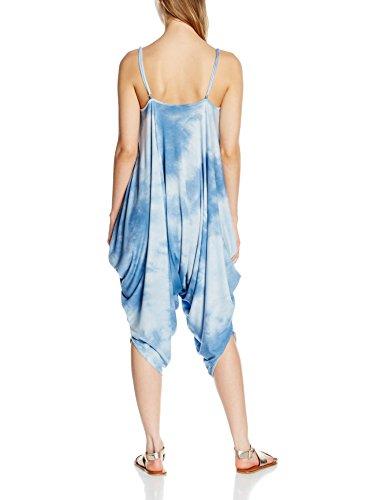 New Look Pandy, Robe Femme Bleu - Blue (Blue Patterned)