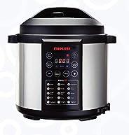 Nikai 1000W Digital Pressure Cooker, Black, NEP682D1