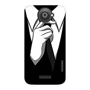 Gorgeous Tie Knot Back Case Cover for HTC One X