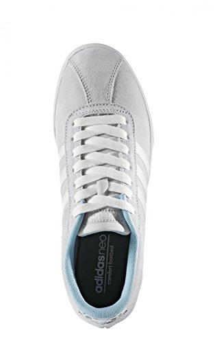 adidas Courtset W, Scarpe Sportive Donna grigio (Griuno / Ftwbla / Supros)